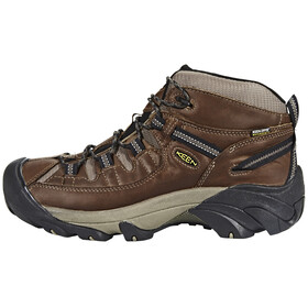 Keen Targhee II Mid WP Shoes Men Shitake/Brindle